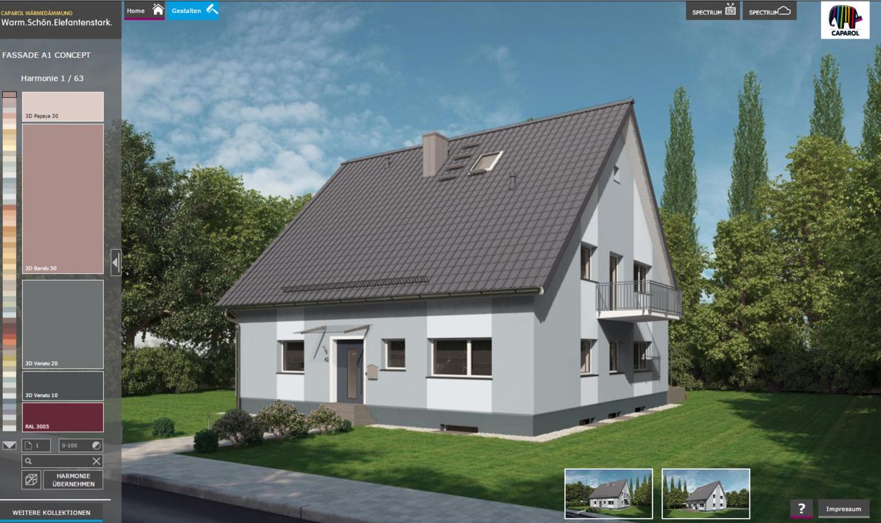 Favorit Fassaden-Konfigurator - Maler Zecher TH65